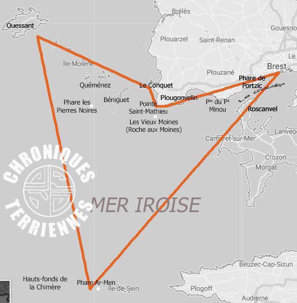 Lieux de l'intrigue : pays léon et mer Iroise