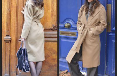 Le manteau peignoir... Adoptez votre style !