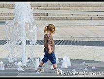 Clermont Ferrand - jet d'eau