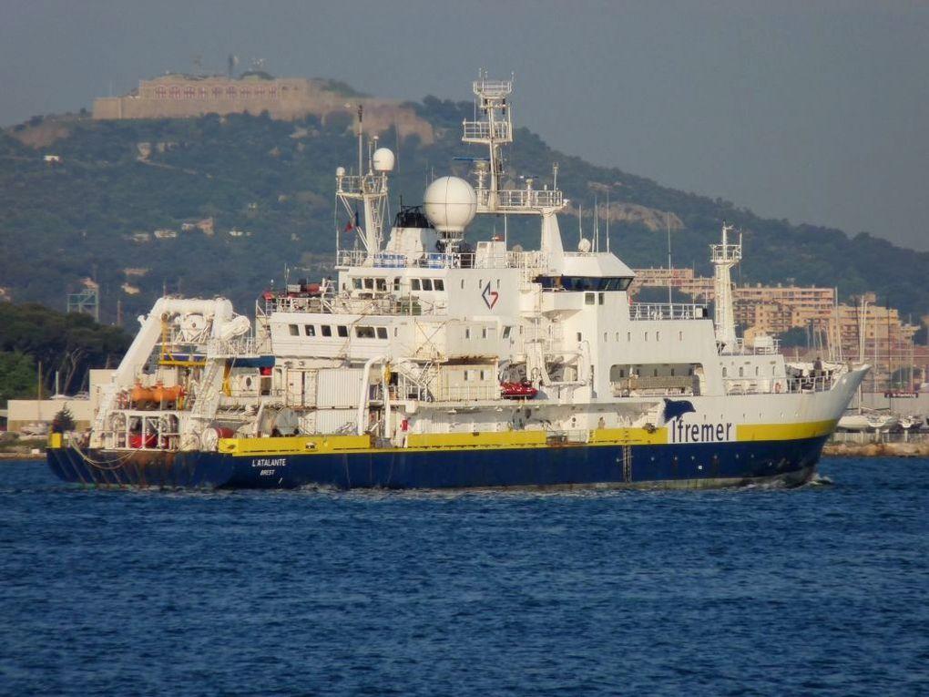 L'ATALANTE , Navire de recherche océanographique de l'IFREMER