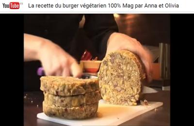 La recette du burger végétarien en vidéo {émission 100% Mag du 05 décembre 2013 sur M6}