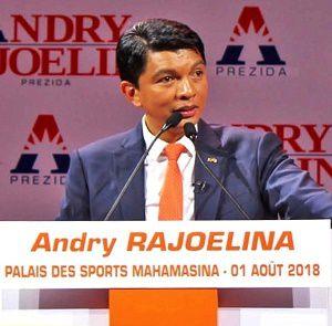 Le blog des actions d'Andry RAJOELINA