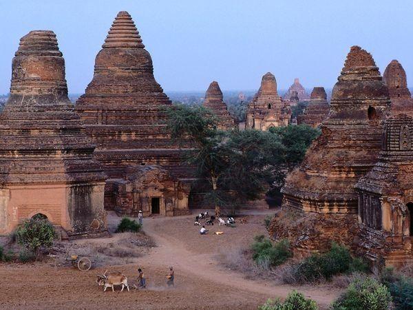 Imágenes de Birmania o  Myanmar.- El Muni.