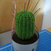 DIY, cactus au crochet -