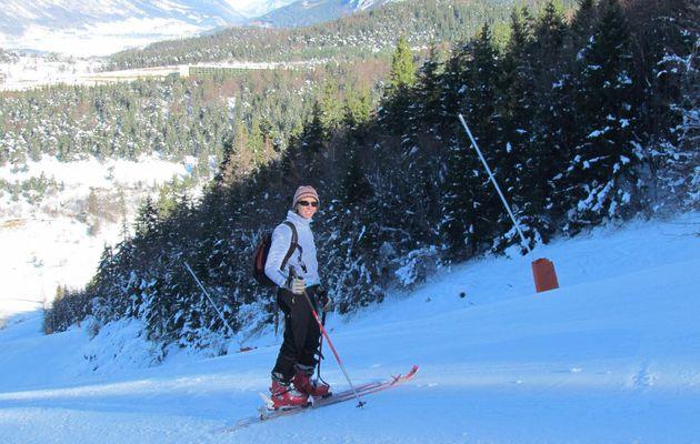 Ski de rando aux Rochers des Jaux à Villard-de-Lans - 2029 m - 3 décembre 2013