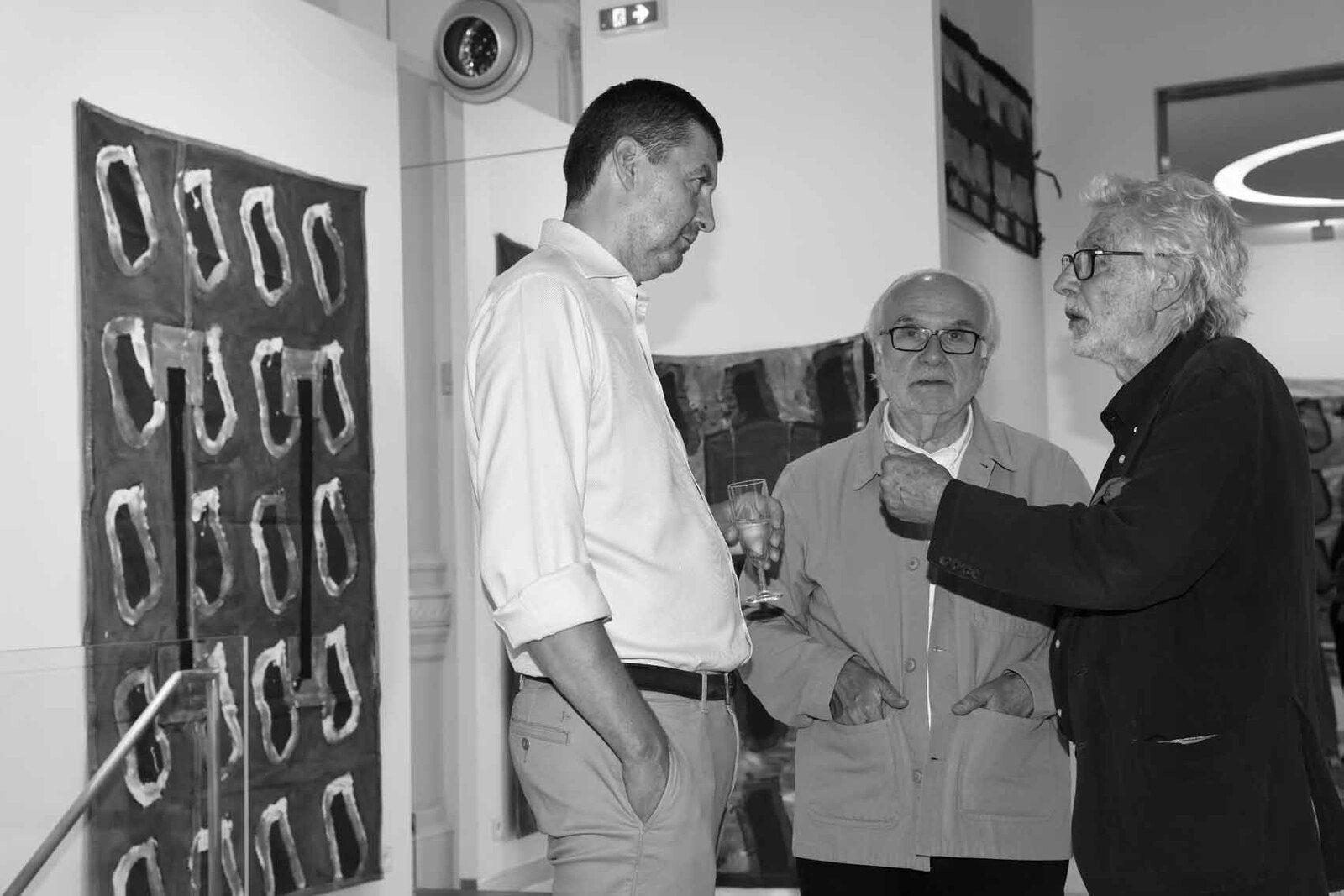 Inconnu, Bernard Collet, Pierre Buraglio