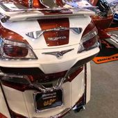 Goldwing - souvenirs du salon de la moto 2015 à Paris