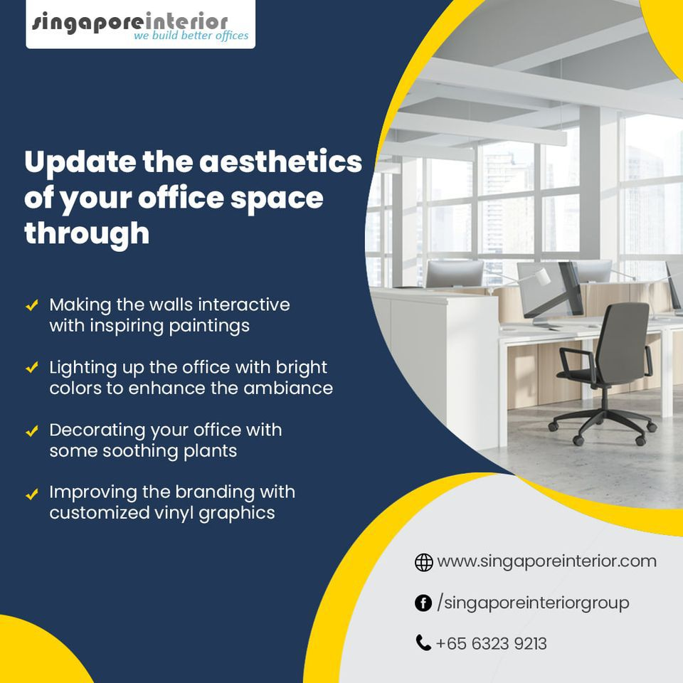 Singapore Interior - Your Trusted Partner for Office Renovation in Singapore  - Singapore Interior Design Firm