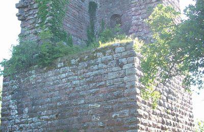 châteaux d'alsace (ruines)