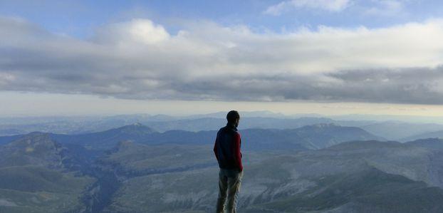 Punta de Las Olas 3.002 m - Baudrimont SW 3.026 m - Baudrimont NW 3.049 m - Pico Añisclo 3.254 m - Esparrets 3.078 m -- Julio 2014
