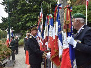 Commémoration de la libération de Quimper