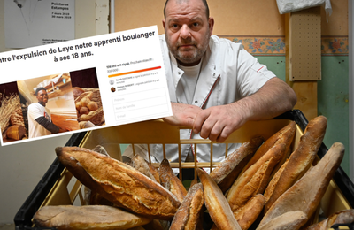 Le courage d'un boulanger Bisontin !