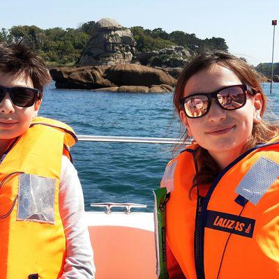 Capitaine Charles et capitaine Caroline à la barre !