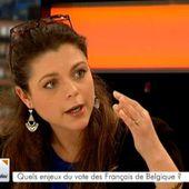 Sophie Rauszer, invitée sur le plateau de BX1 - France Insoumise - Benelux