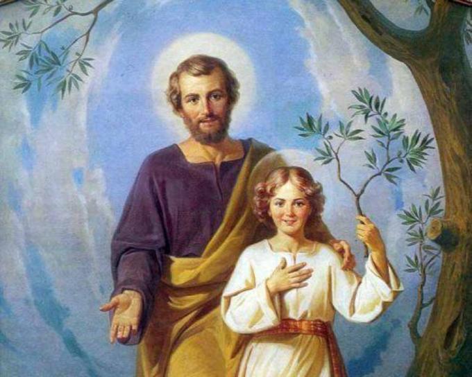 SAINT JOSEPH PRIEZ POUR NOUS