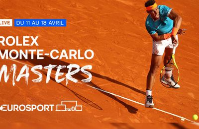 Rolex Monte-Carlo Masters : Sur quelles chaînes suivre le Tournoi lundi ?