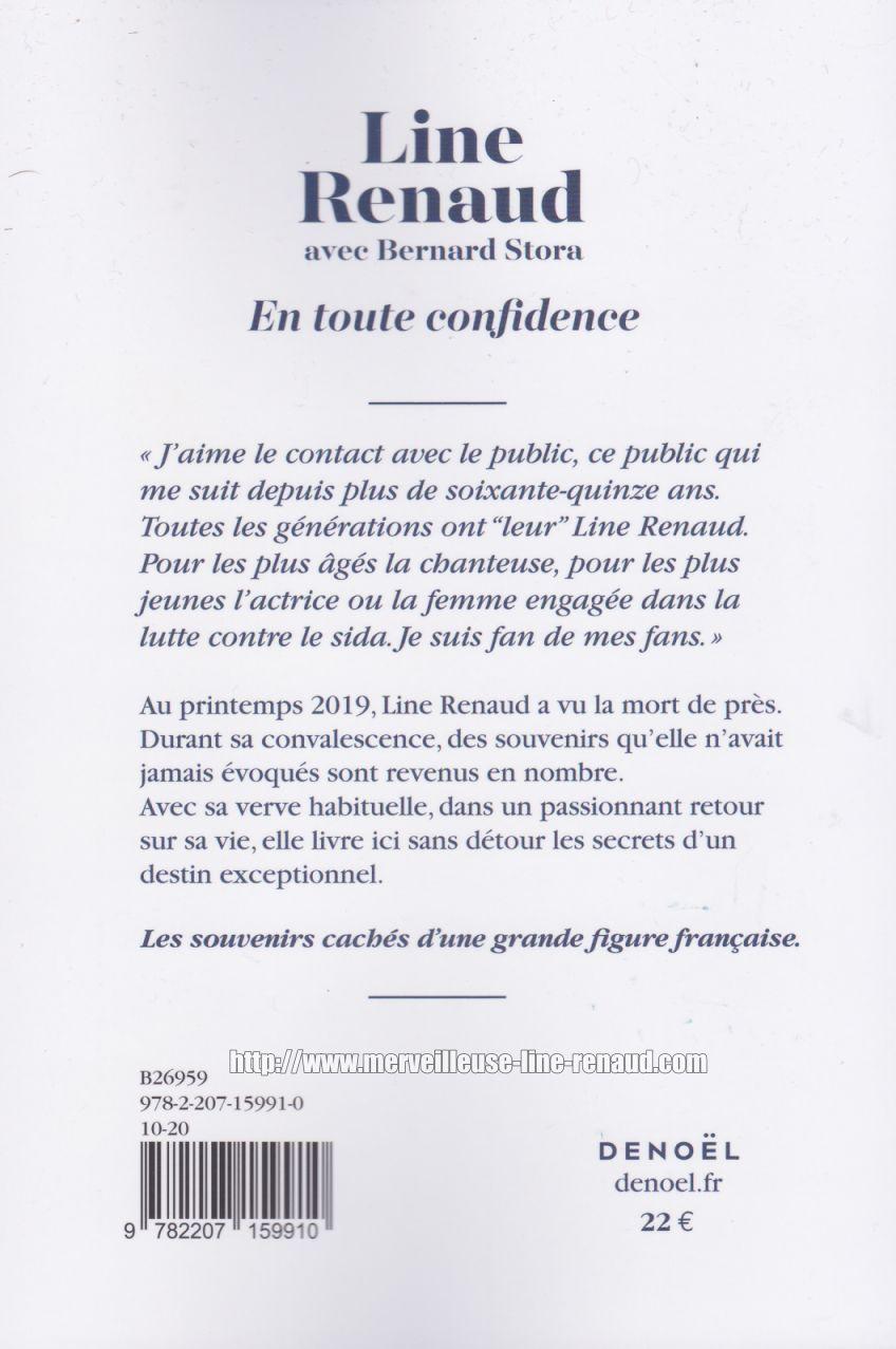 LIVRE: En tout confidence (2020)