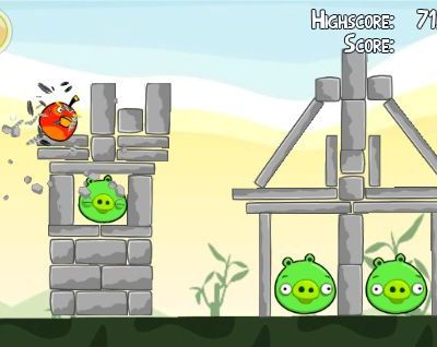 Angry birds sur Android ne marche pas