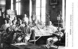LE SERVICE DE SANTE DANS LA BATAILLE DE L'AISNE : NOYON (SEPTEMBRE 1914)