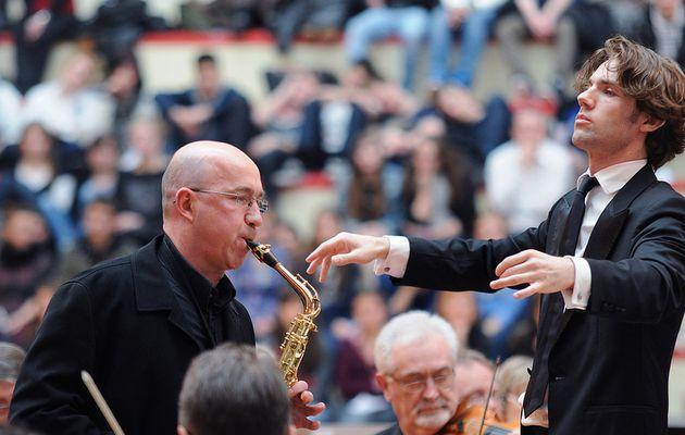 RENDEZ-VOUS AVEC LE MUSIC'ART...avec LE QUATUOR  DE SAXOPHONES   D.GREMELLE...CE SAMEDI...