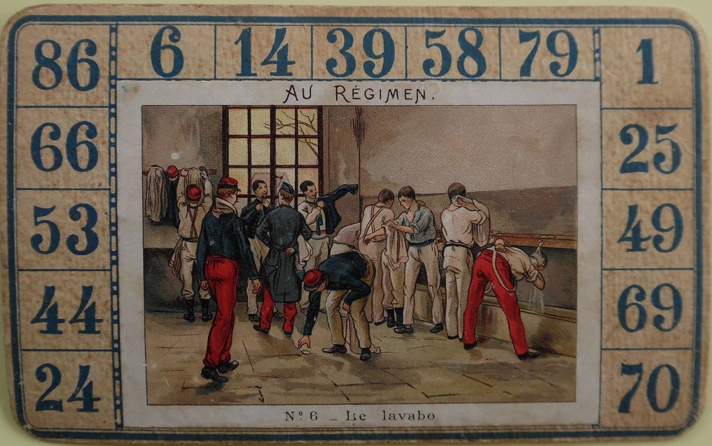 Au REGIMENT ou LA VIE MILITAIRE en 1900