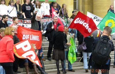 12 Mars 2011 : Avec l' ADPSE, la gauche, les verts et les syndicats unis contre le fléau HAMBREGIE : LA SANTE AVANT TOUT...