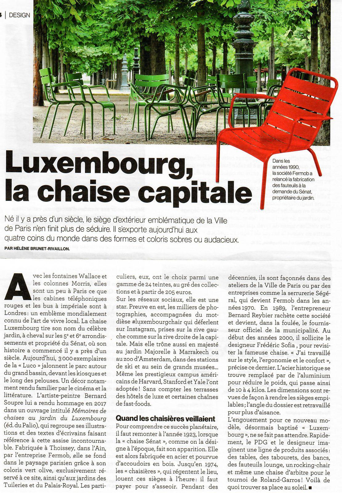 Photo J.S et vu et lu dans l'annuaire du Fabriqué en France 2021 et Le Parisien Weekend n° 23822 du 02/04/21