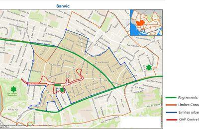 Enquête publique sur l'urbanisme et qualité de vie à Sanvic