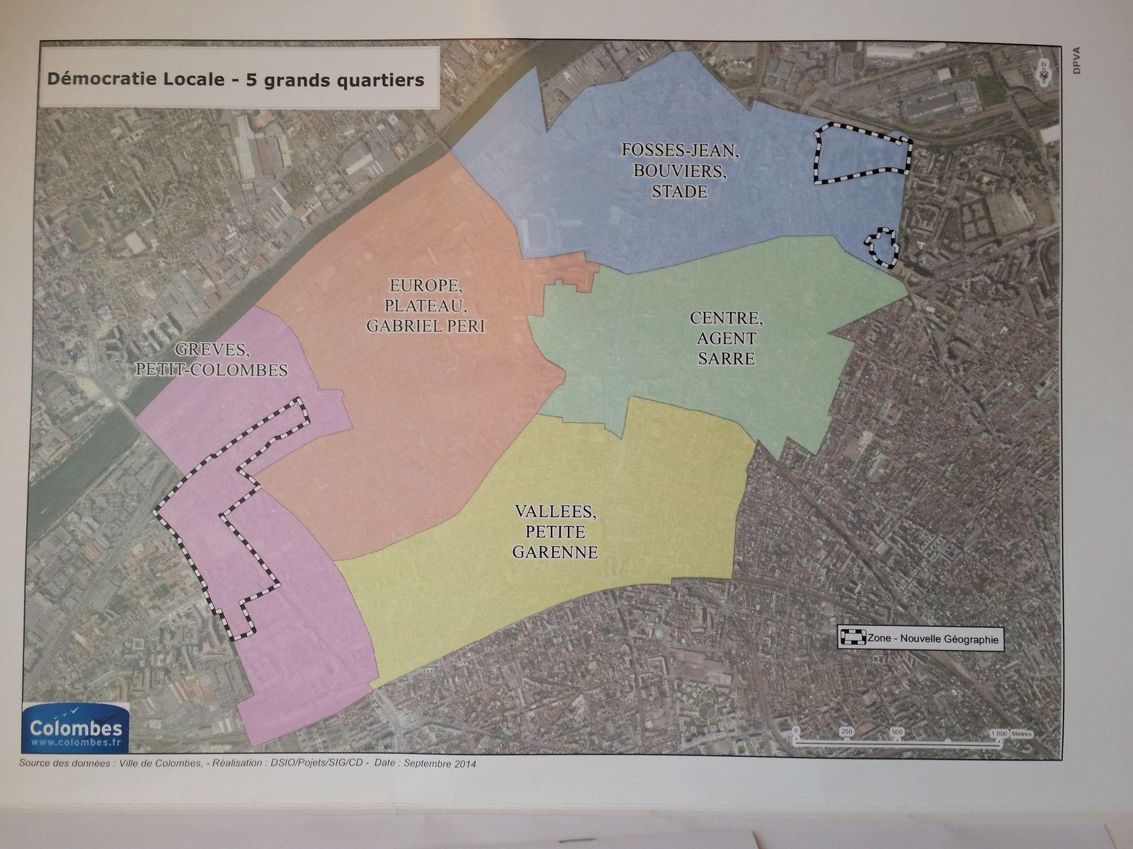 COLOMBES - NOUVEAUX CONSEILS DE QUARTIER : EXPLICATIONS
