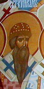 Fêté le 16 septembre (29) : Repos de Saint Cyprien le Métropolitain de Moscou et de toute la Rossiya