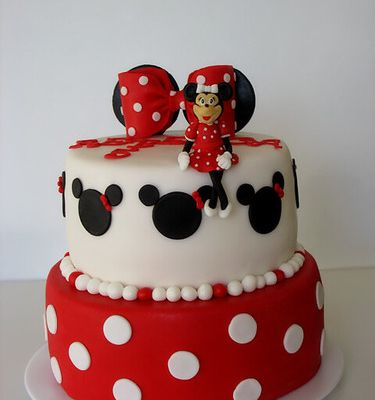Gâteau Minnie Mouse - Torta Mini Maus