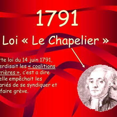 Loi Le Chapelier : La grande casse sociale de 1791