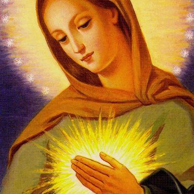 12 juin : Fête du Coeur immaculé de Marie