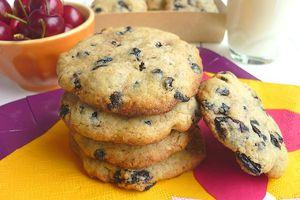 Cookies aux Cerises & Myrtilles Séchées