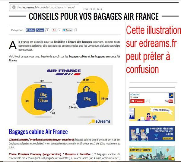 Un article utile pour les usagers d'Air France : quand Picsou passe par là. Cadres déshabillés et clients plumés