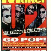 U2 -Magazine Melody Maker -22 Février 1997 - U2 BLOG
