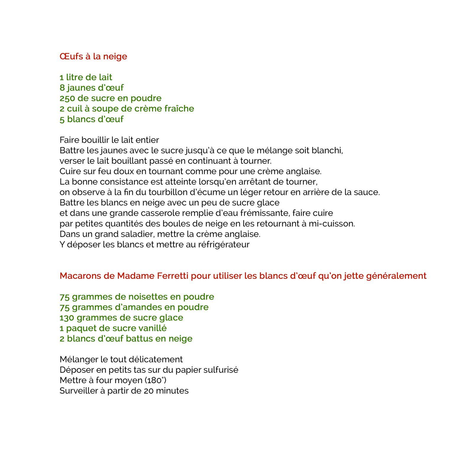 Les recettes de Kate et autres marmitons