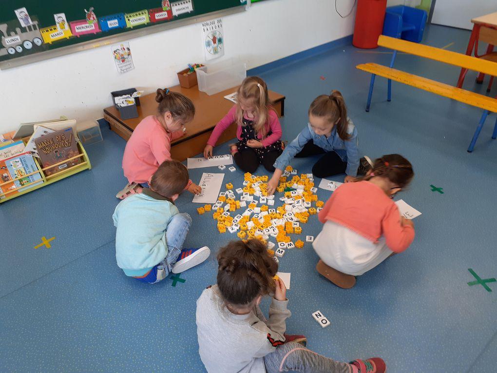 les retrouvailles en maternelle