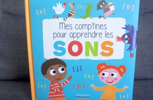 [Papathèque] Lecture : ''Mes comptines pour apprendre les sons'' (éditions Millepages)