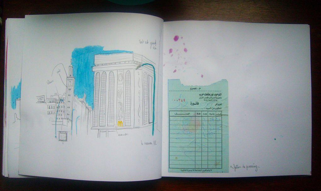Album - carnet de voyage
