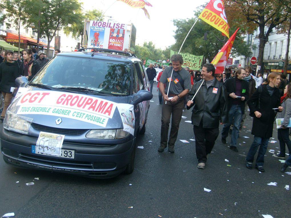 Les CGT Groupama toujours là dans l'action