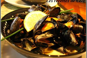 Moules au curry madras