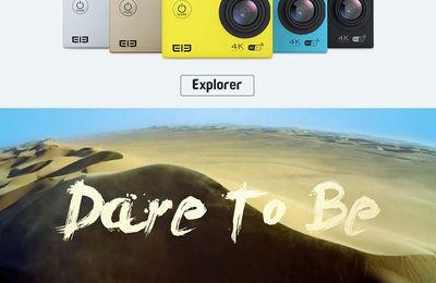 Original Elephone ELE Explorer 4K Ultra HD WiFi Action Camera  €45.27