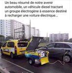 Ne pas confondre voitures à Moteur électrique et voiture à batterie électrique