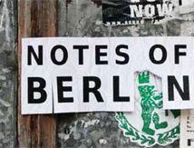 Notes Of Berlin - Hommage an die Notizen einer Grossstadt