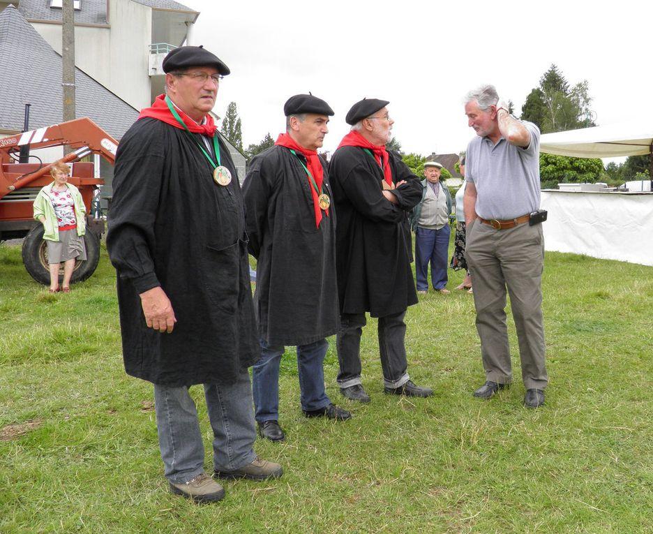 Copncours de percherons de 2012 à Saint-Pierre-des-Nids.