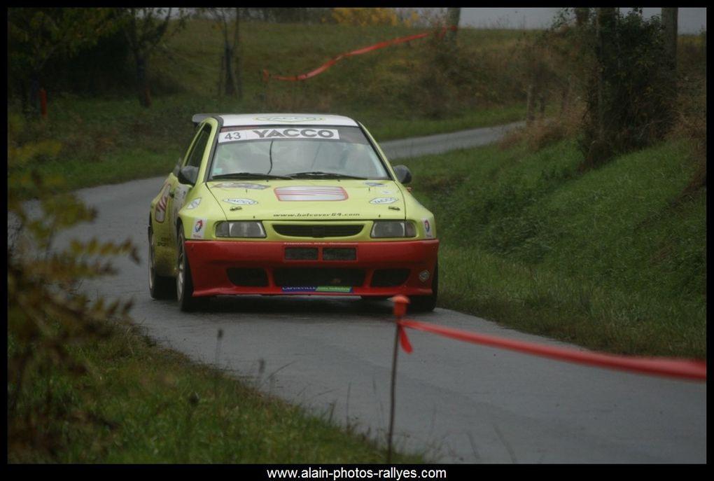 Rallye régional comptant pour la coupe de France des rallyes 2017 et pour le comité d'Aquitaine.