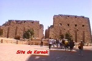Louxor- Karnak -Hatchepsout - Abou Simbel - Egypte-