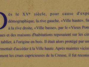 Infos sur le Pont Vieux (clic pour agrandir)