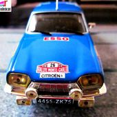 FASCICULE N°30 CITROEN GS RALLYE MONTE CARLO 1975 CLAUDE LAURENT JACQUES MARCHE IXO 1/43 ALTAYA. - car-collector.net